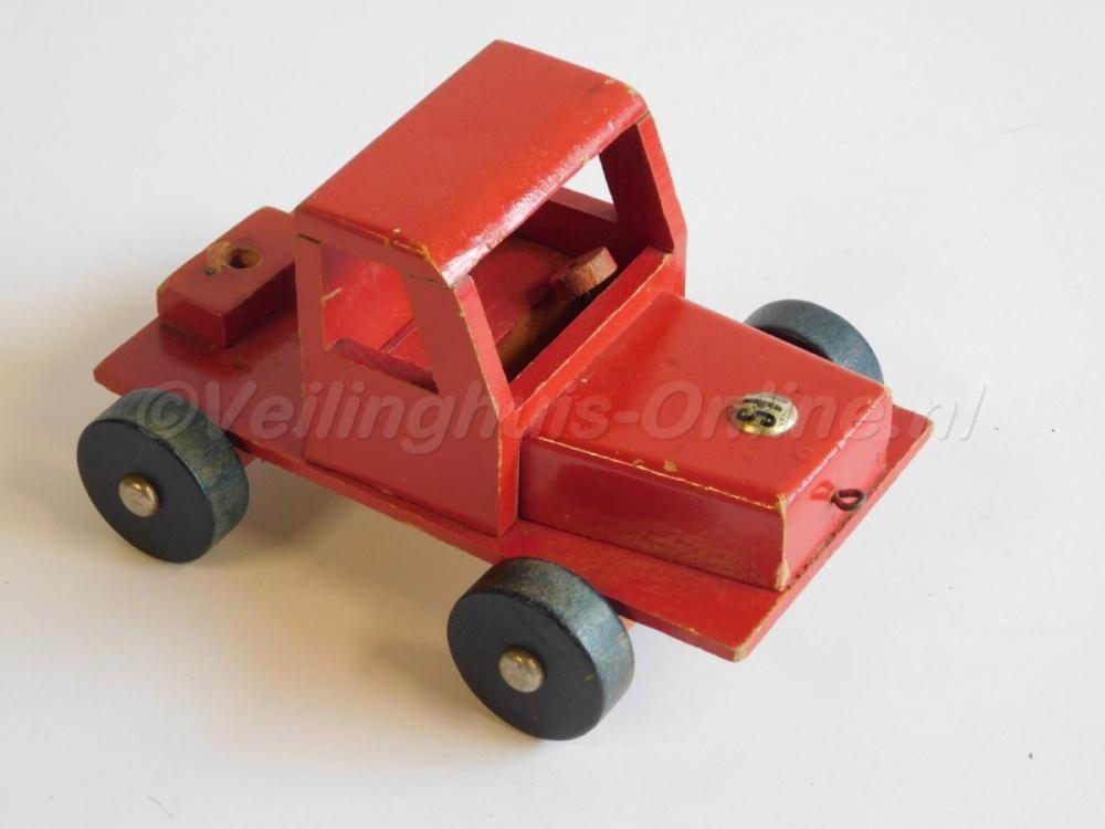 Welp Veilinghuis-Online - kavel-details Antiek houten speelgoed KY-93